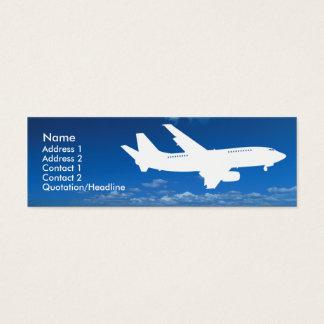 Im Flugzeug Visitenkarten | Zazzle.de