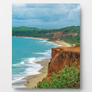 LuftMeerblick-SzenePipa Brasilien Fotoplatte