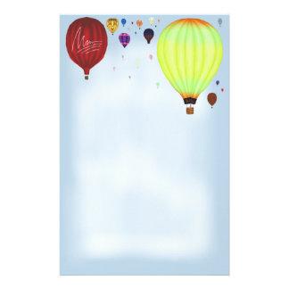 Luftpost ~Hot Luft Balloons~ Briefpapier