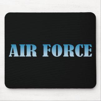 Luftwaffe - blauer Text Mousepad