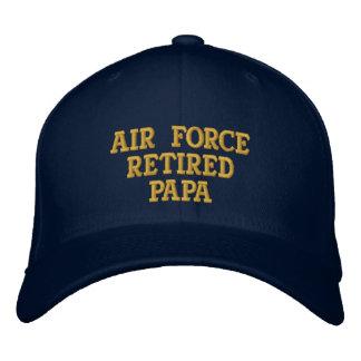 Luftwaffe pensionierte Papa gestickte Kappe
