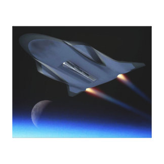 Luftwaffen-hypersonisches Leinwanddruck