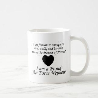 Luftwaffen-Neffe glücklich Kaffeetasse