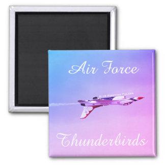 Luftwaffen-Thunderbirds umgekehrtes Manöver Quadratischer Magnet