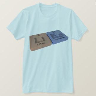 Lügen als Li-Lithium und EsEinsteinium T-Shirt