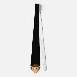Lugenaffe-Krawatte Bedruckte Krawatte