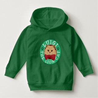 Luigi der Löwe-Katzen-LogoHoodie Hoodie