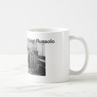 Luigi Russolo - die Kunst der Geräusche Kaffeetasse
