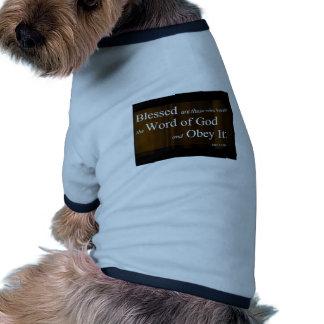 Luke-11:28 Hundekleidung