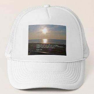 Luke-6:37 Sonnenaufgang Truckerkappe