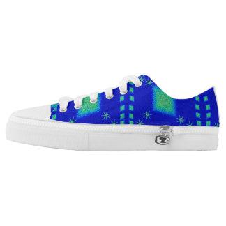 Lulu-Blau Niedrig-geschnittene Sneaker