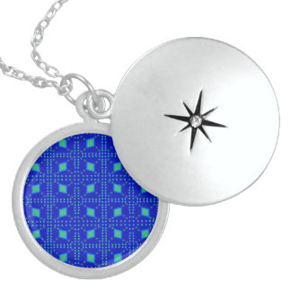 Lulu-Blau Sterling Silberkette