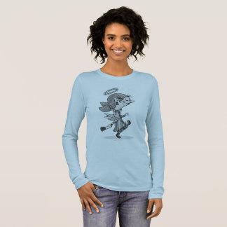 Lulu-ENGELS-SPORT-SHIRT, der Bella der Langarm T-Shirt