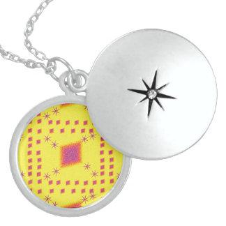 Lulu-Gelb Medaillon
