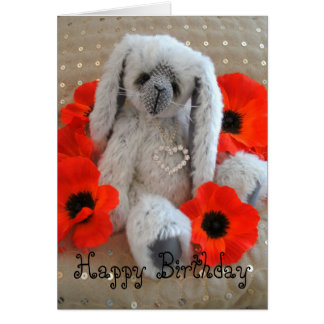 Lulu Lovebunny - alles Gute zum Geburtstag Karte