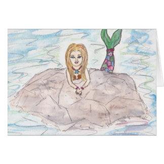 Lulu - Meerjungfrau Karte