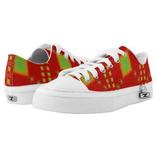 Lulu-Rot Niedrig-geschnittene Sneaker