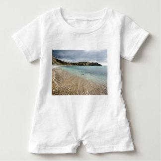 Lulworth Bucht Baby Strampler