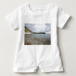 Lulworth Bucht, Dorset Baby Strampler