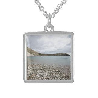 Lulworth Bucht Sterling Silberkette