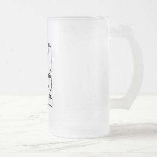 Lulz Bier-Glas Mattglas Bierglas