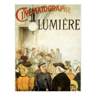 Lumière Bruder-Kino-Plakat Postkarte
