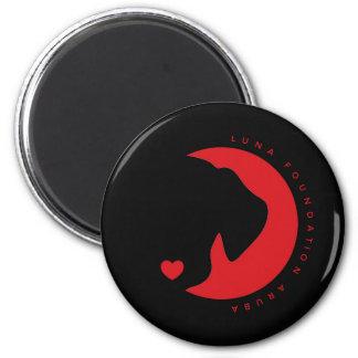 Luna-Magnet Runder Magnet 5,1 Cm