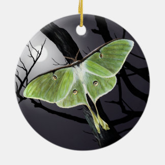 Luna-Motten-Keramik-Verzierung Keramik Ornament