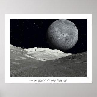 Lunarscape Poster