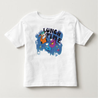 Lunch Time for Piranha Kleinkind T-shirt