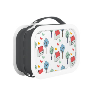 Lunchbox, Lonchera de Casitas y corazones