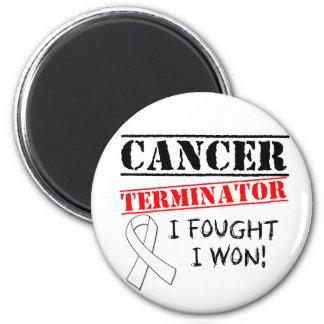 Lungenkrebs-Abschlussprogramm Kühlschrankmagnete