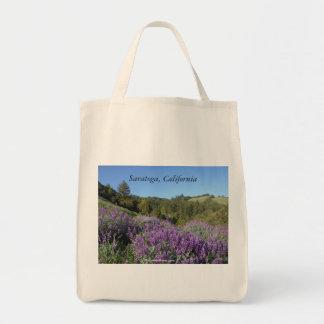 Lupine-Wiese Saratoga Kalifornien Tragetasche