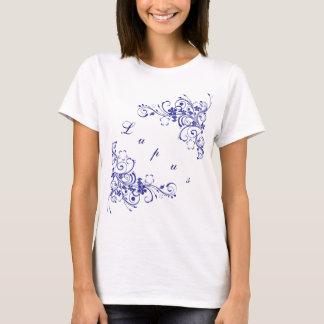 Lupus im Blau T-Shirt