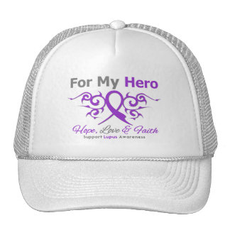 Lupus-Stammes- Band-Held Cap