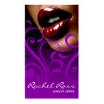 Luscious glatte Lippen Curliques | lila Visitenkarte