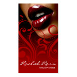 Luscious glattes LippenCurliques   Kardinalsrot Visitenkarte