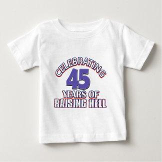 Lustig, 44 Jahre der anhebenden Hölle feiernd Baby T-shirt