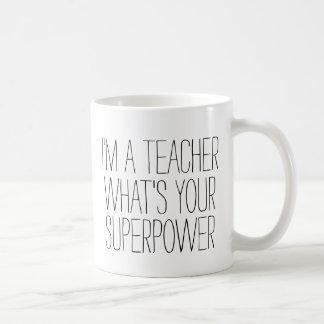Lustig bin ich ein Lehrer, was Ihr Geschenk der Kaffeetasse