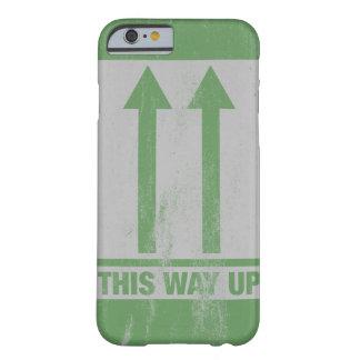 Lustig diese Weise herauf Zeichen Barely There iPhone 6 Hülle