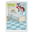 Lustig erhalten Sie wohle Karte: Clown-Doktor Karte
