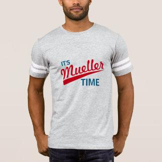 """Lustig """"es ist Mueller-Zeit """" T-Shirt"""