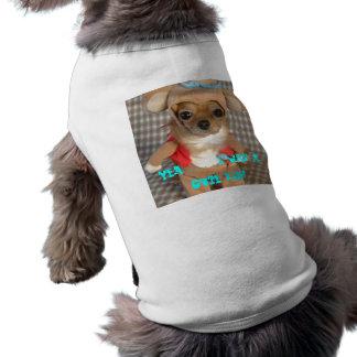 Lustig-Hundkostüm [1], Yea…. Ich war… ein niedlich Ärmelfreies Hunde-Shirt