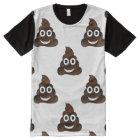 lustig kacken Sie emoji T-Shirt Spitzen-T - Shirt
