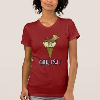 """Lustig """"kühlen Sie HERAUS"""" T-Shirt"""