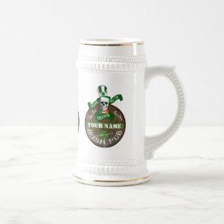 Lustig küssen Sie mich irische Kneipe Tasse