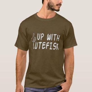 Lustig oben mit Lutefisk Skandinavier-Spaß T-Shirt