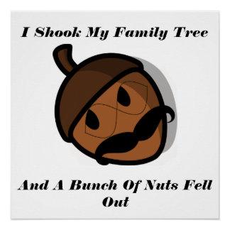 Lustig rüttelte ich meinen Stammbaum Poster