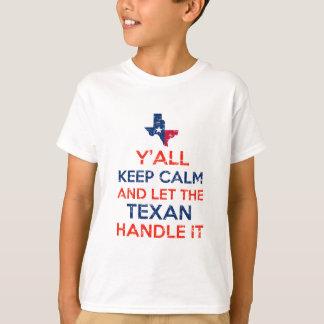 Lustig Sie Texan-T-Shirts T-Shirt