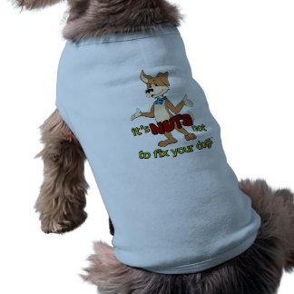 Lustig spay,/Neutrum Ärmelfreies Hunde-Shirt